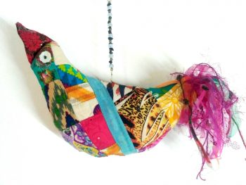 Patchwork Bird Mobile