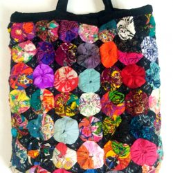 Rosette Shopping Bag